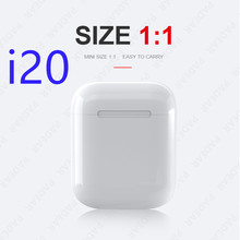 лучшая цена Original i20 TWS 1: 1 Bluetooth 5.0 Wireless 6D heavy bass headphones PK i10 i12 i30 i60 i80 i100 i300 i1000 i2000 i800 i500 tws