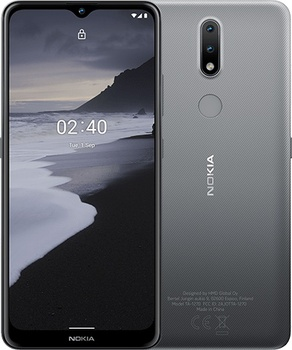 Купить Nokia 2,4 32GB Dual Sim Black