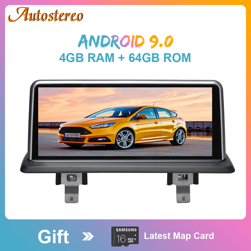 IPS Car Stereo Receiver For <font><b>BMW</b></font> <font><b>E87</b></font> E81 E82 E88 <font><b>Android</b></font> <font><b>9.0</b></font> System 4+64G RAM GPS Navigation Screen WIFI Google Carplay Idrive image