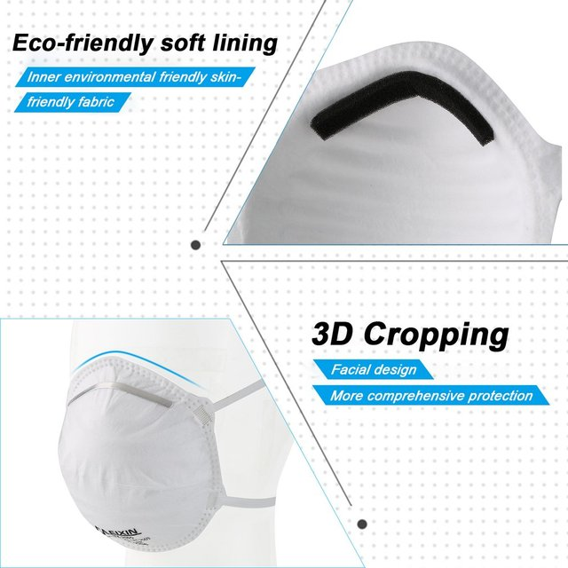 Face Masks Mouth Anti Dust Muffle Polyurethane Carbon Black Activated Filter Windproof Cotton PM2.5 3-layer Bacteria Proof Flu 3