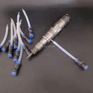 Image 4 - Colector rápido de retorno de aceite de 2 uds de riel común para inyectores diésel, Conector de tubería de aceite, resistencia a altas temperaturas