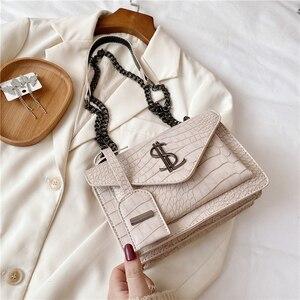 Image 4 - Luxury Handbags Famous Brand Women Bags Designer Lady Classic Plaid Shoulder Crossbody Bags Leather Women Messenger handbags