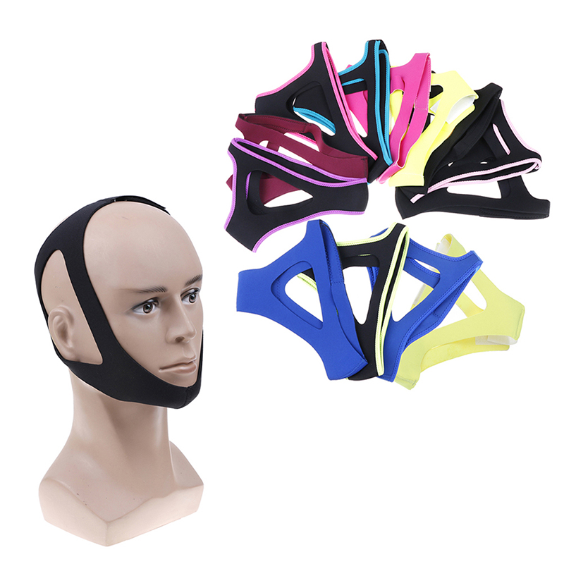 1PCS Anti Snoring Belt Triangular Chin Strap Mouth Guard GiftsBetter Breath Health Snore Stopper Bandage Unisex