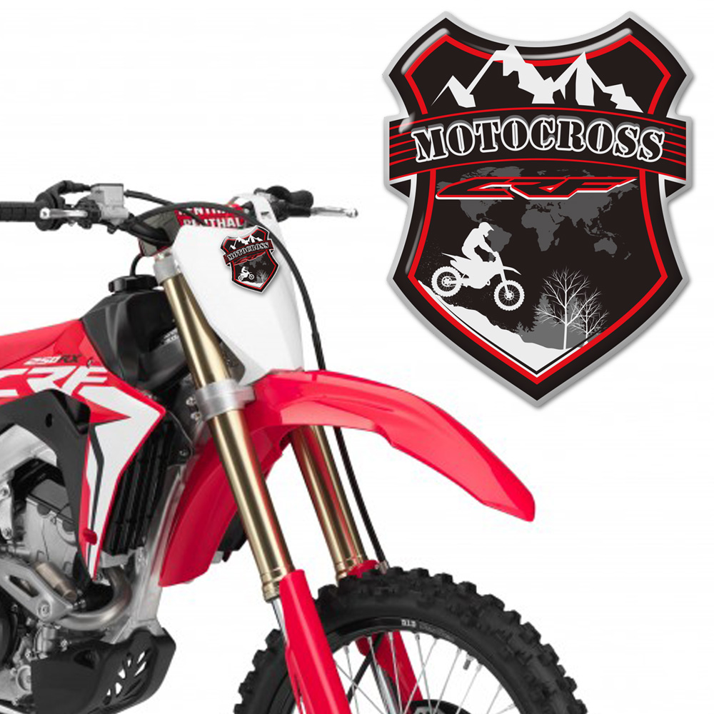 For <font><b>Honda</b></font> CRF 50 F <font><b>150</b></font> 450 250 L CRF50F CRF450L CRF250L CRF250R CRF450R CRF250I CRF450I <font><b>STICKER</b></font> <font><b>Kits</b></font> DIY Windshield Windscreen image
