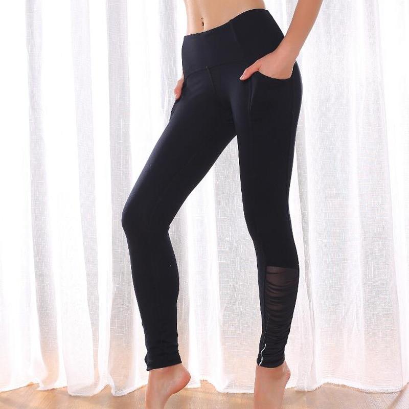 2020 new   Leggings   Sport Fitness Mesh full length Pants Sexy Sport   Leggings