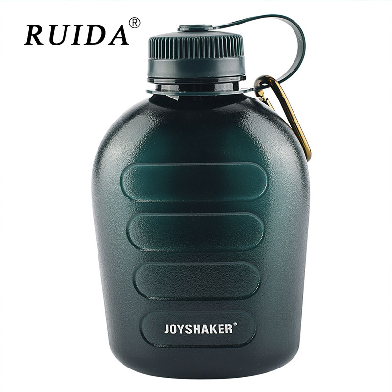 1L Summer Camp Kettle Bidon Military Canteen Water Bottle for Outdoor Hiking Camping Training Bottles Kettles