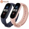 Männer Frauen Sport Smart Armband M5 Blutdruck Fitness tracker Smartband Herz Rate Monitor Smart band Armband Smart Uhr