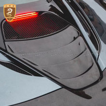 Real Carbon Fiber Rear Engine Cover For McLaren 720s 2017 2018 Carbon Fiber Accessories Carbon Cover Super Car