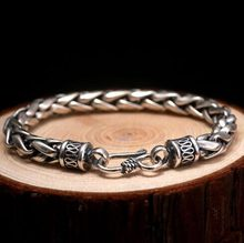 Men High Quality Metal Vintage Biker Chain Bracelets Jewelry