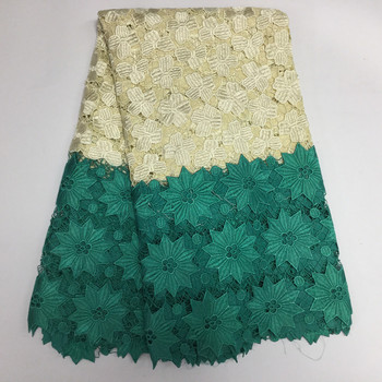 2020 Nigerian laces Fabric 2020 African Cord Laces Fabrics High Quality Guipure Cord Lace Fabric For Wedding Dress PL17923