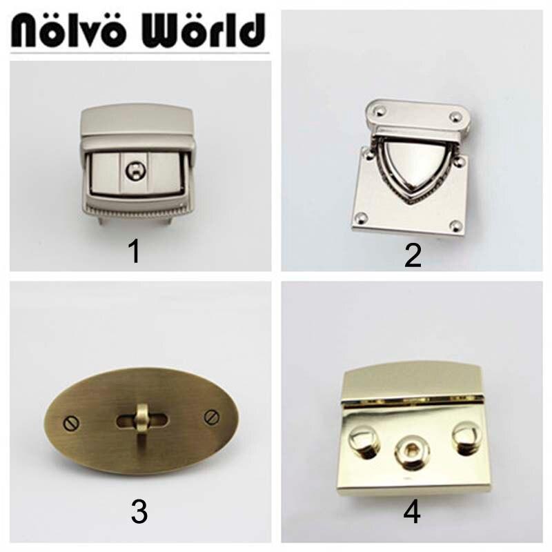 18 New LOCKS Replace,Only 1 Piece Lock Repair Your Bag,Lock For Saving Women Handbags,repair Man Briefcase Bags Purse