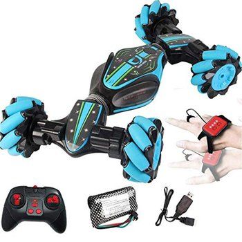 Stunt Gesture Induction Twisting Off-Road Vehicle Light Music Drift Traverse Remote Control Dancing Side Driving Toy Gift