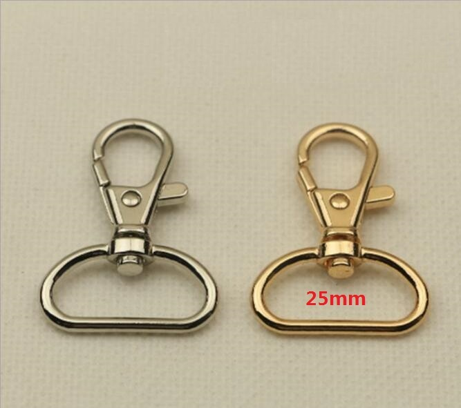 (10 Pcs/lot) Factory Wholesale High-grade Spring Bag Hook Belt Chain Connecting Buckle Luggage Handbag Metal Fittings