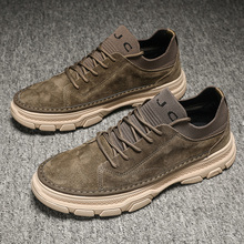 Original Young Casual Shoes For Boy Top Quality Leather Man