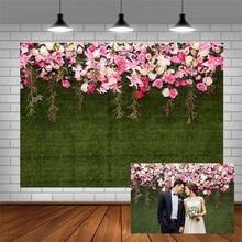 Avezano خلفيات للتصوير الفوتوغرافي ، خلفية زخرفية لجدران اليوم ، الزفاف ، العشب ، الزهور ، استوديو الصور ، كشك الصور