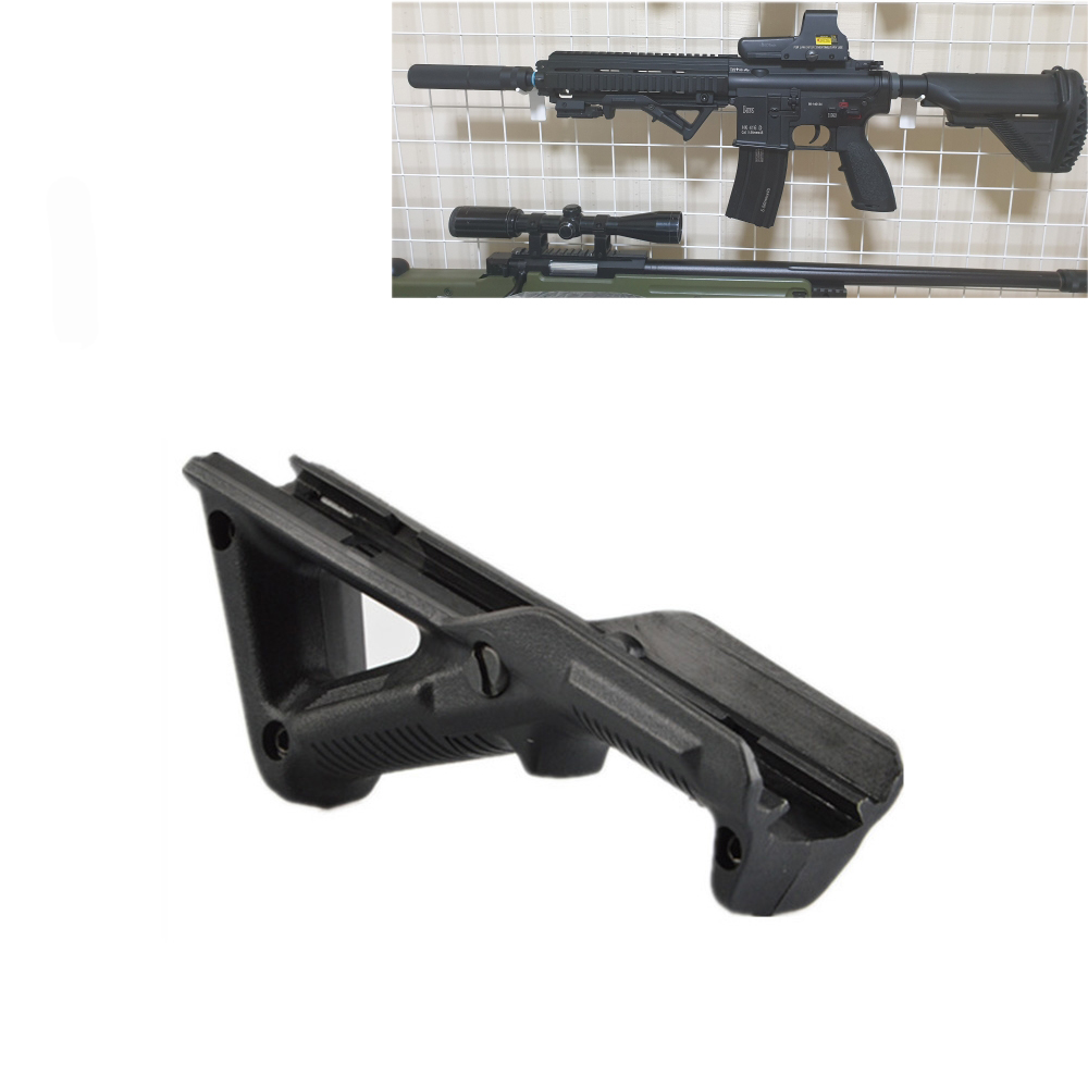 Tactical Triangle grip Picatinny Rail Nylon Grip Polymer Handle M4 M16 AR15 Rifle Hunting Accessories Lightweight and durable