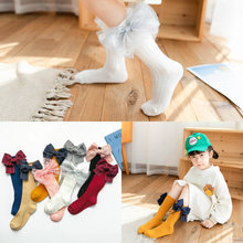 Socks Candy-Color Toddler Baby-Girls Infant Kids Cotton New-Fashion Autumn Fall Boot-Covers