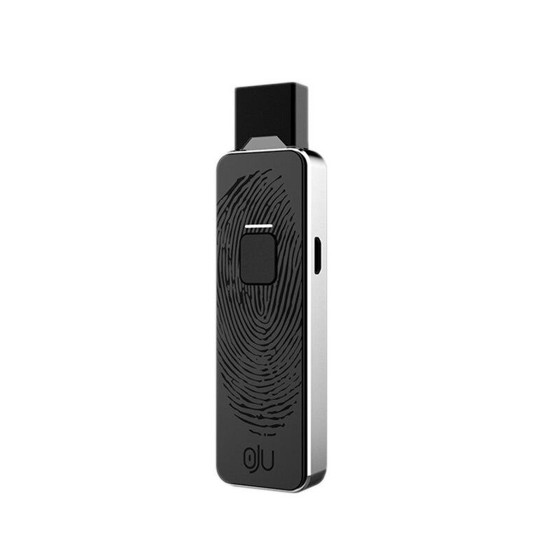 Vape Pen Pod 650Mah Battery 4 Speed Adjustable Voltage Device With Pods Metal E Cigarette Vapor For JUUL/JUll(Black+silver)