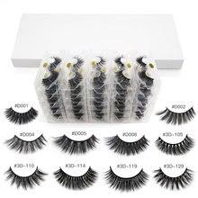 Wholesale Eyelashes 20/30/40/50/100pcs 3d Mink Lashes Natural Mink Eyelashes Wholesale False Eyelashes Makeup Fake Lashes bulk