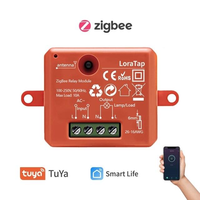 Relé inteligente ZigBee 3,0