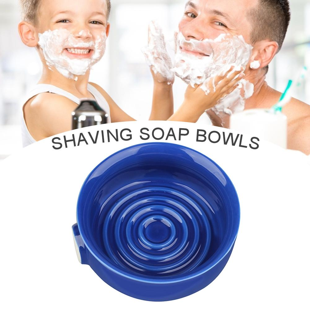 Shaving Soap Bowl Ceramic Large Capacity Dscosmetic Ceramic Shaving Lather Bowl With Wide Mouth For Man Shaving Soap Bowl
