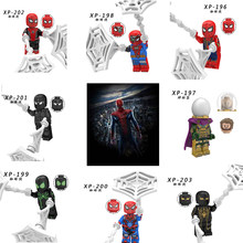For Legoelys Figures Marvel Avengers Spiderman Ultimate Spider-Man Noir Gwenom Marvel Mini Building Blocks Toys Figure(China)