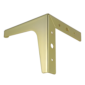 Image 3 - 4pcs Flooring Metal Furniture Legs Square Cabinet Wood Table Legs Gold for Sofa Feet Foot Bed Riser furniture accessories