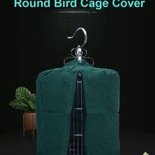 Bird Parrot Round Cage Cover Waterproof Bird Accessories
