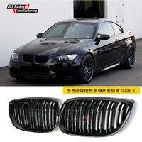 3 Series E92 E93 Pre-LCI 2006 - 2009 E92 Dual Salt Abs Black Kidney Grill Grille Mesh for BMW 3 Series E92 E93 & All M3 Models