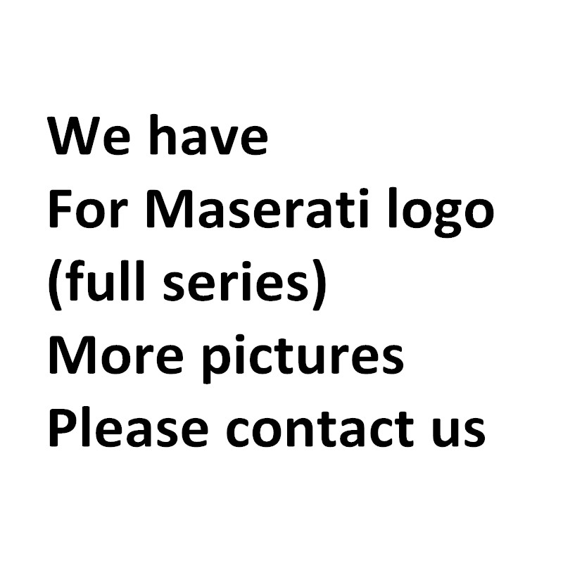 Image 5 - GTS Q4 SQ4 Emblem Badge for Maserati Quattroporte Ghibli Levante Trunk Sticker Car Styling Refitting Tail Logo-in Car Stickers from Automobiles & Motorcycles