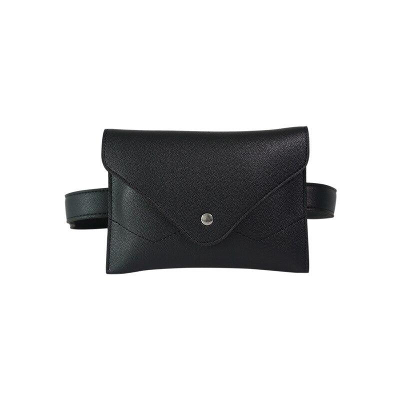 Waist Bag High Quality Fashion PU Women Leather Removeable Belt Mini Fanny Pack