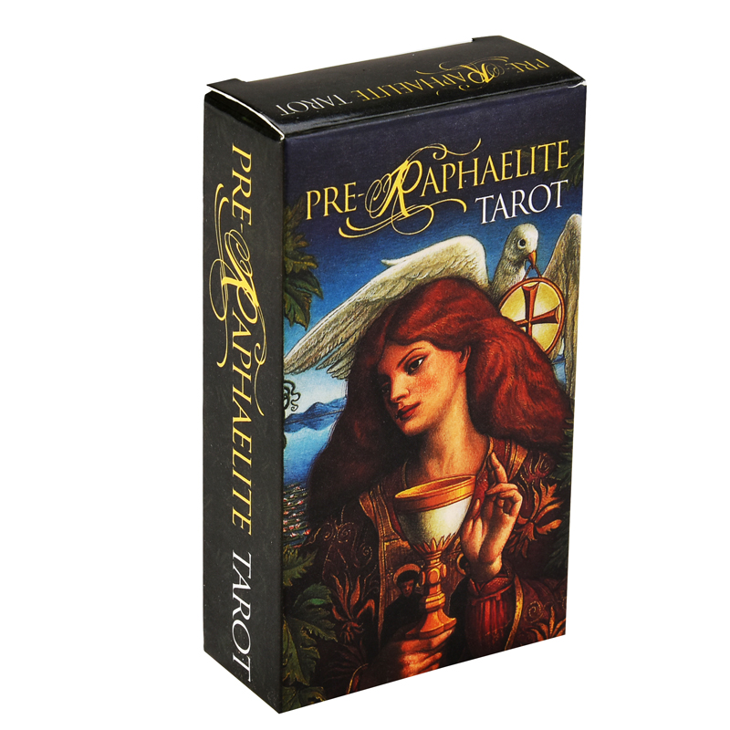 Pre-Raphaelite Tarot Card Game English Tarot Deck Table Card Board Games Party Playing Cards Entertainment Family Games