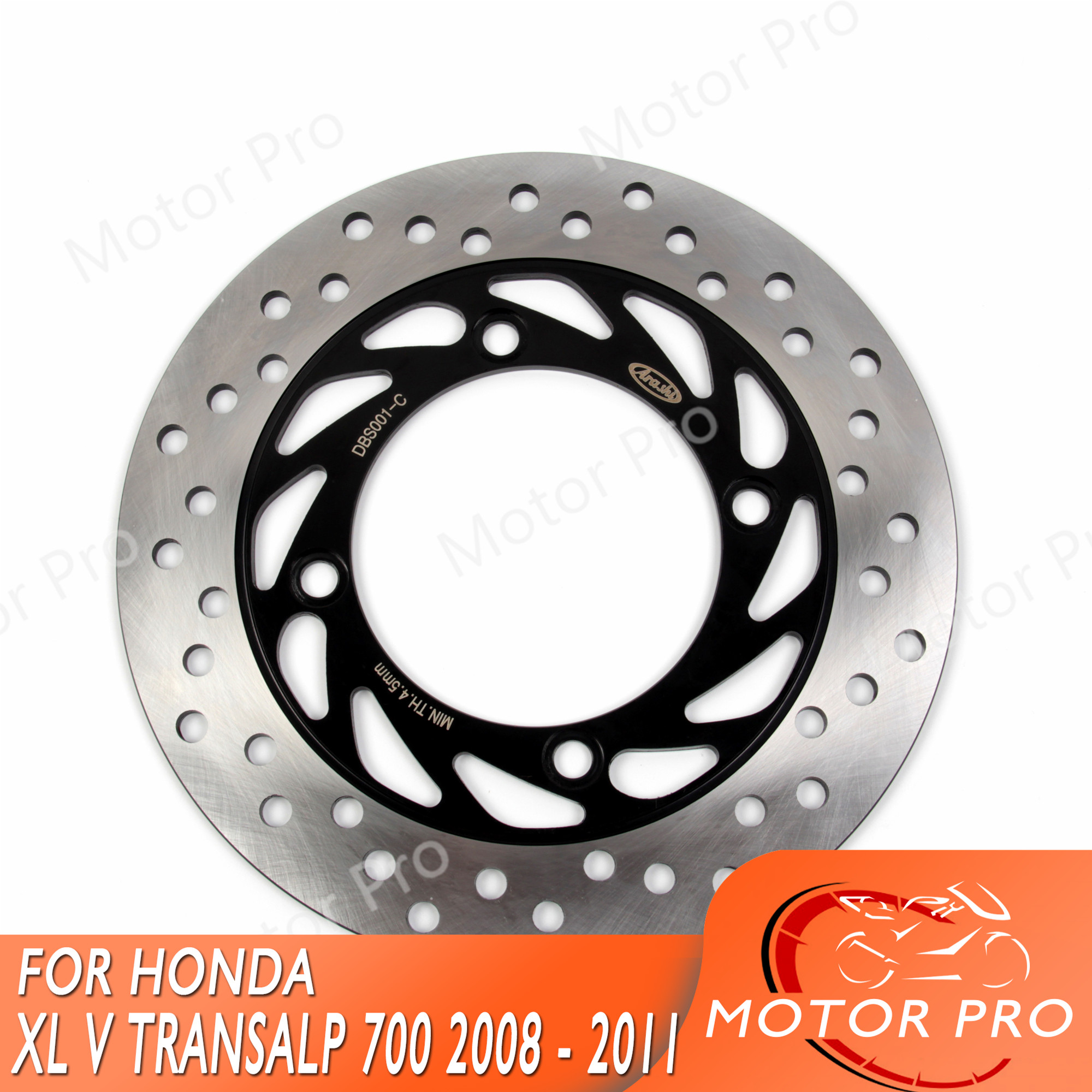 For <font><b>Honda</b></font> <font><b>XL</b></font> V TRANSALP <font><b>700</b></font> 2008 - 2011 ABS Rear Brake Disk Disc Rotor Motorcycle Accessories XLV700 XLV <font><b>700</b></font> 2009 2010 XL700V image
