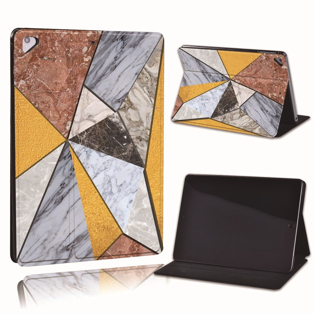 12.grey yellow Silver For Apple iPad 8 10 2 2020 8th 8 Generation A2428 A2429 PU Leather Tablet Stand