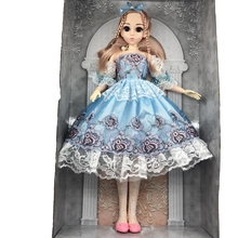 60cm Lifelike Fashion Girl Doll 13 Moveable Jointed Large Princess Birthday Gift  FINDIT