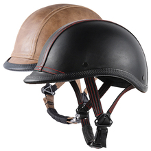 Adult Half Face Vintage Riding Helmet Hat Cap Men/Women Motorcross Moto Racing Capacete Mtb Helmets propro horse riding ski helmets half covered men women capacetes de motociclista sports safety hat helmet skiing headwear