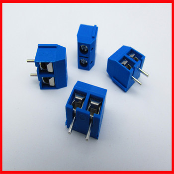 KF301-2P Two-position terminal terminal 5.08mm pitch European and American certified cross screw plug image