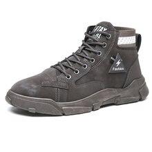 Мужские ботинки Весенняя походная обувь Мужская нескользящая