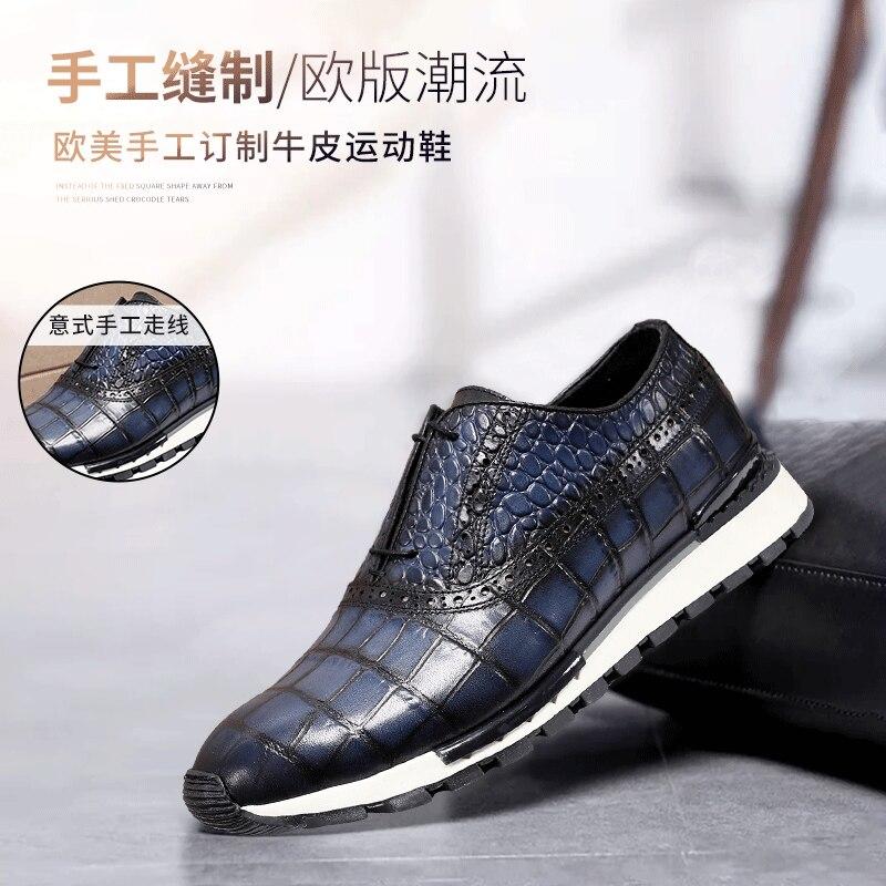 И Зимняя универсальная однотонная спортивная обувь на низком каблуке, с круглым носком, на шнуровке спереди, с резиновой подошвой, повседневная обувь на заказ