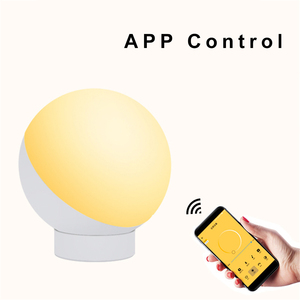 Image 3 - Tuya Smart WiFi lampa stołowa sterowanie bezprzewodowe kolorowe ściemnianie biurko lampka nocna sterowanie głosem za pośrednictwem Alexa Google Home Smart Home