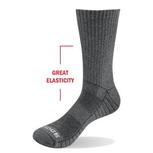 Image 3 - YUEDGE Mens 5 Pairs Spring and Autumn Cotton Cushion Comfortable Sports Casual Runing Hiking Crew Dress Socks
