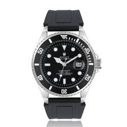 Top Luxus Marke GEWINNER Schwarz Uhr Männer frauen Casual Männlichen Uhren Business Sport Military Edelstahl Uhr 3513