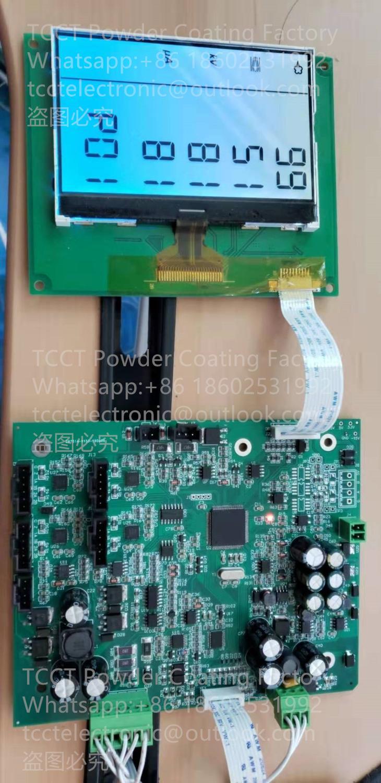 Placa de Controle Eletrostática do Pwb da Máquina do Revestimento do pó Ternos para o Uso Direto de Gema Optiflex