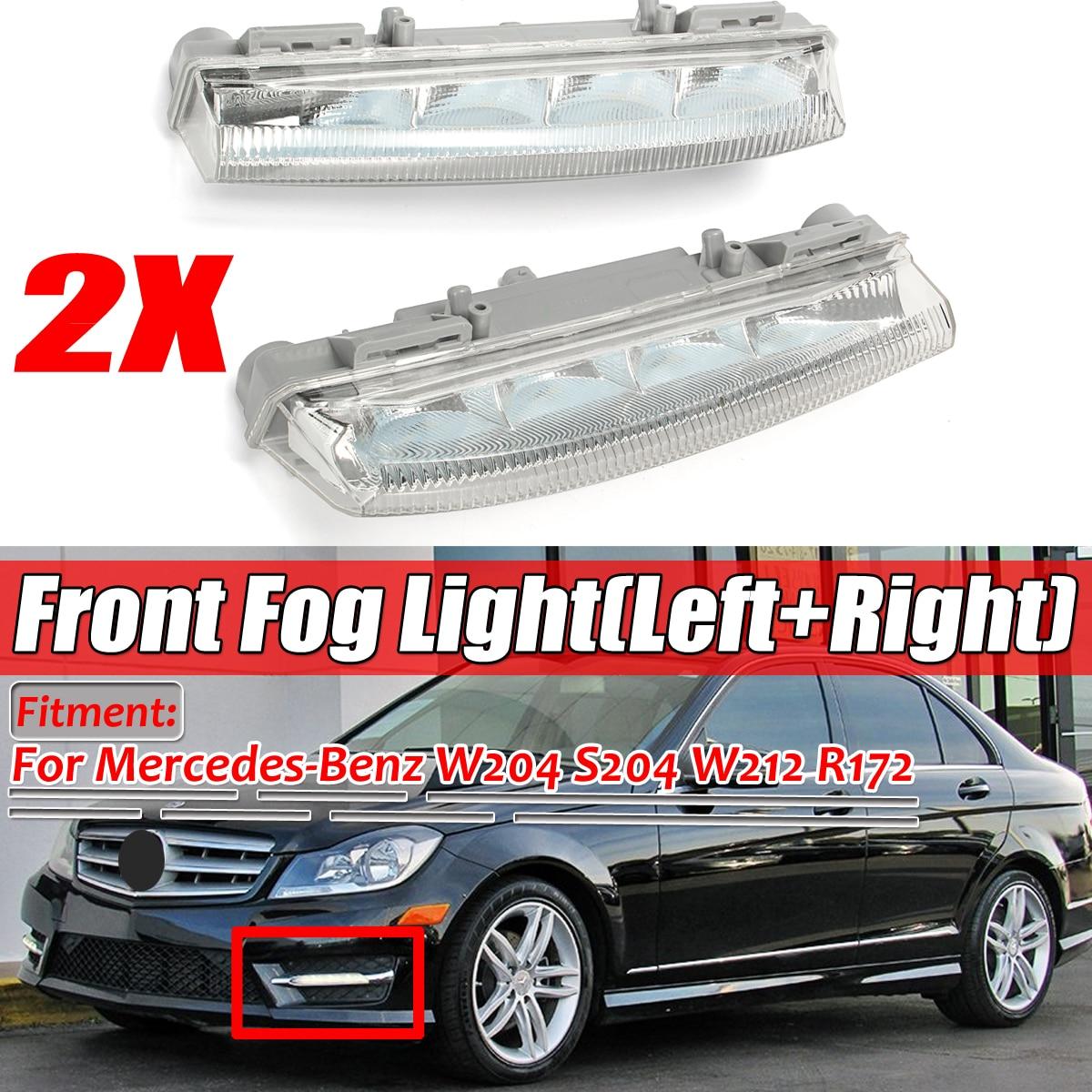 12V Daytime Running Light for W204//212//R172 2049068900 Replace on Vehicle Left