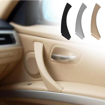 Car Right Side Inner Door Panel Handle Pull Trim Cover for BMW E90 E91 3 Series Car Styling Inner Door Handle image