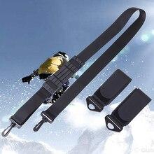 Ручной нейлоновый ремень для катания на лыжах, регулируемый плечевой ремень для сноуборда, лыжного спорта, сумки с ручками, аксессуары для лыж