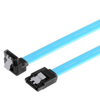 """2019 para disco duro HDD USB de alta velocidad Cable de 5 piezas 18 """"SATA 3,0 Cable SATA3 III 6 GB/s ángulo recto 90 grados"""
