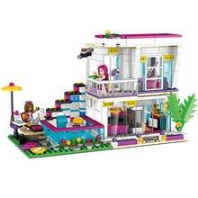 Livi's house building compatible lepining friend для девочек