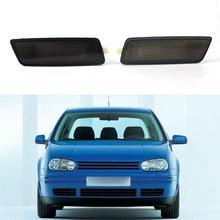цена на 2Pcs Front Bumper Side Marker Light Turn Signal Lamps For Golf 5 MK5 GTI 2005-2009