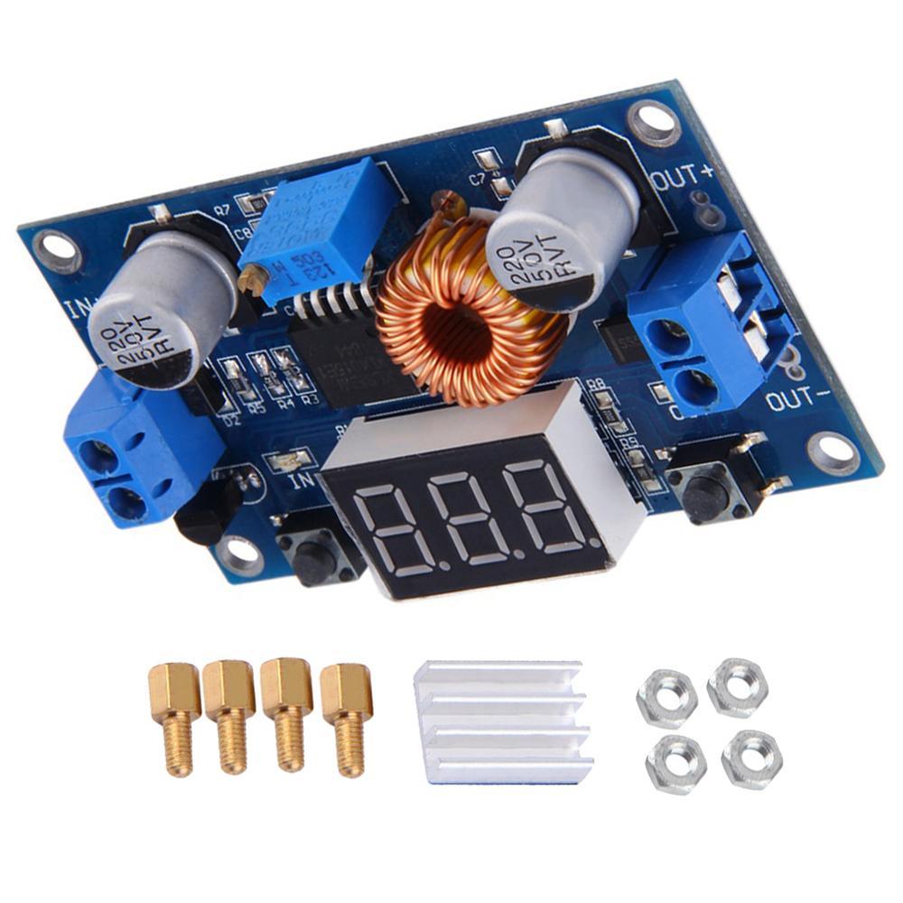 DC-DC  Lithium Battery Step Down Converter 5-36V to 1.25-32V 5A Buck Voltage Regulator Charging Board Led Power Converter